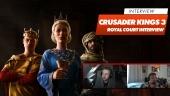 《十字軍之王III:Royal Court》- Alexander Oltner 訪談