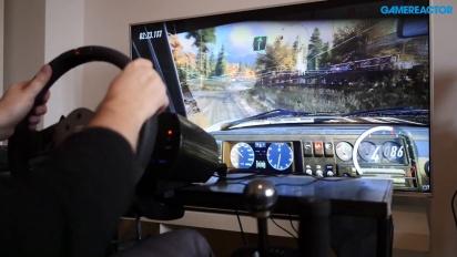 《Dirt Rally 2.0》-  Fanatec CSL 方向盤 Gameplay - Golf 2 GTI