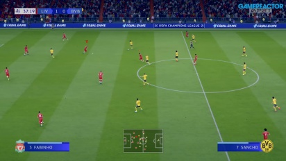 《FIFA 20》- 利物浦 vs 多特蒙德 Gameplay