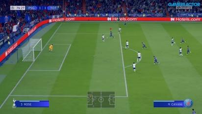 《FIFA 20》 - PSG vs. 托特納姆熱刺 Gameplay