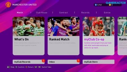 《實況足球 2020》- MyClub 模式 Gameplay