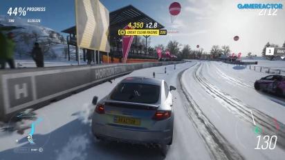 《極限競速 地平線4》-冬季德溫特湖畔衝刺 Gameplay (1080p 縮放)