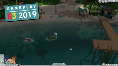 《模擬市民4》- 島嶼生活 Gameplay