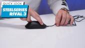 SteelSeries Rival 3 滑鼠 - 快速查看