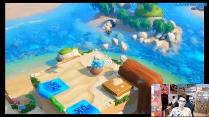 《瑪利歐+瘋狂兔子 王國之戰》- 大金剛 DLC 直播重播