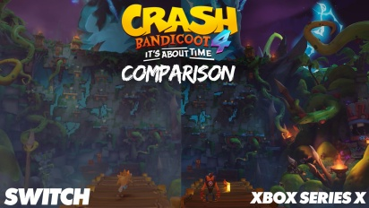 《袋狼大進擊4》- Xbox One、任天堂 Switch 跟 Xbox Series 的比較