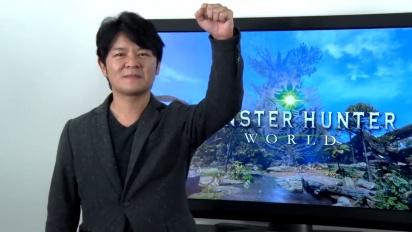 Monster Hunter: World - Ryozo's Title Update Message