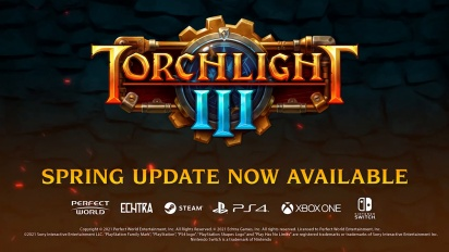 Torchlight III - Spring Update Launch Trailer
