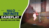 《最後一戰:無限》 - 在Live Fire 地圖上玩一場「殺戮之王」 Gameplay
