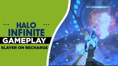 《最後一戰:無限》 - 在Recharge 地圖上玩一場「殺戮之王」 Gameplay