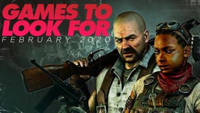 值得期待的遊戲 - 2020年2月