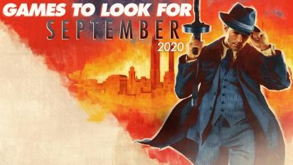 值得期待的遊戲 -2020年9月