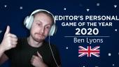 Gamereactor 編輯個人2020年度遊戲選擇 - Ben Lyons (英國)