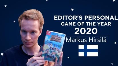Gamereactor 編輯個人2020年度遊戲選擇 - Markus Hirsilä (芬蘭)