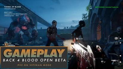 《喋血復仇》- 開放 Beta PvE,老手難度等級