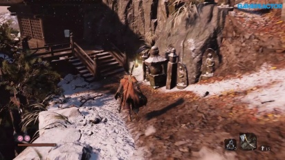 《隻狼:暗影雙死》-  Gamereactor 的 Gamescom Gameplay
