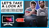 快速查看 - Asus 的 ROG Strix XG32VQR 螢幕