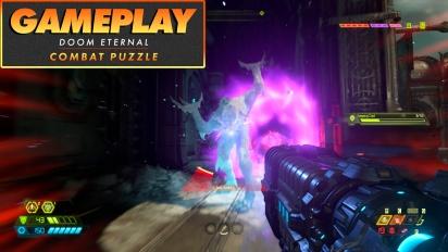 《毀滅戰士:永恆》- 戰鬥解謎  Gameplay