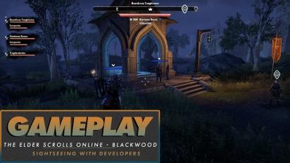 《上古卷軸 Online:Blackwood》- 跟開發人員們觀光去