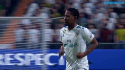 《FIFA 19》-  旅程模式  4K Gameplay 皇馬對曼聯