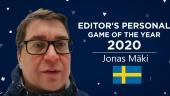Gamereactor 編輯的 2020 個人年度遊戲 - Jonas Mäki (瑞典)