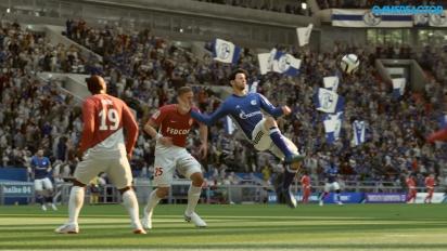 《FIFA 19》- 沙爾克04足球俱樂部 vs 摩納哥 生存模式 HD Gameplay