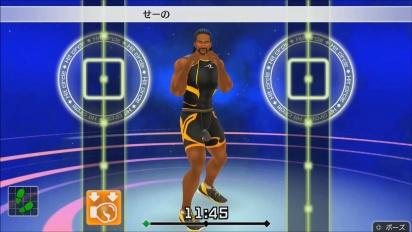 《Fitness Boxing》- Bernard 健身教練 gameplay 預告片