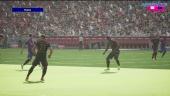 《eFootball 2022》- 首場對戰 PS5 gameplay 拜仁對巴塞隆納