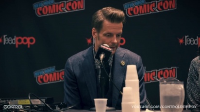 Control - New York Comic Con: Remedy All Stars Panel