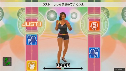 《Fitness Boxing》- Laura 健身教練 gameplay 預告片