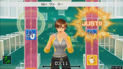 《Fitness Boxing》- Lin 健身教練 gameplay 預告片