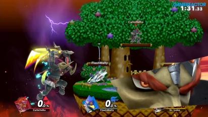 《任天堂明星大亂鬥 特別版》-  排名賽出現反應慢狀況的 Gameplay