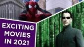 大銀幕時光 - 2021年最令人期待的電影