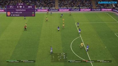 《實況足球 2020》DP6 - myClub Co-Op 線上 Gameplay - 聖莊士敦 vs 兵工廠