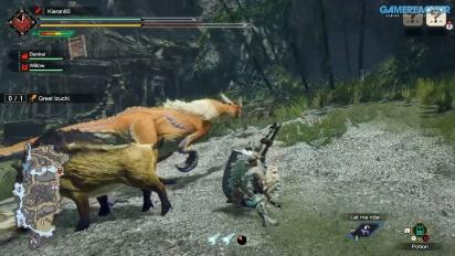 《魔物獵人 崛起》- 鐮鼬龍王 - Gameplay