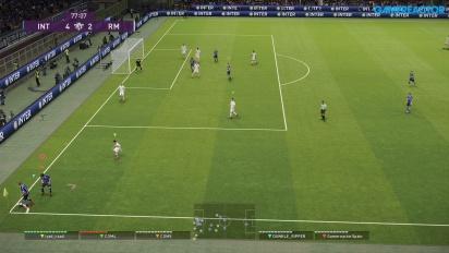 《實況足球2020》DP6 - myClub Co-Op 線上 Gameplay - 國際米蘭 - 皇家馬德里