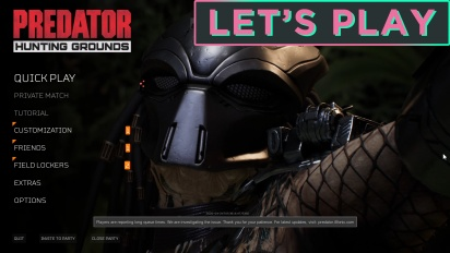 Let's Play《Predator:Hunting Grounds》