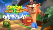 《Crash Bandicoot: On the Run!》- 實機操作