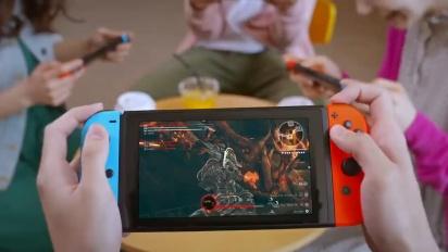 God Eater 3 - Nintendo Switch Announcement Trailer