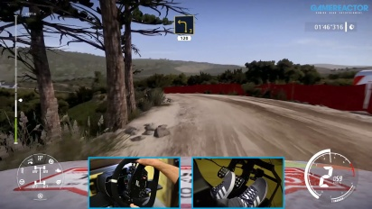 《WRC 9》- 新拉力葡萄牙賽道 Gameplay,使用 Toyota GR Yaris 拉力賽概念車