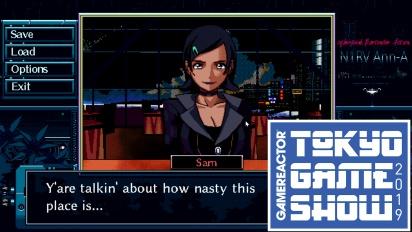 《N1RV Ann-A: Cyberpunk Bartender Action》 - 東京電玩展 Gameplay
