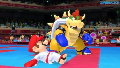 《瑪利歐與音速小子AT東京奧運》- 空手道對打 Gameplay