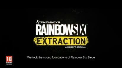 Rainbow Six: Extraction - Dev Team Title Reveal