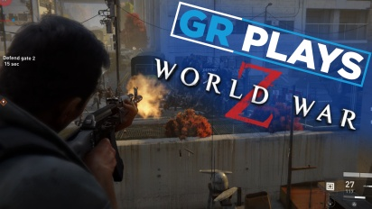 《末日之戰 World War Z》- Gamereactor Plays