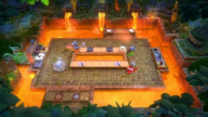 Overcooked: All You Can Eat - The Peckish Rises Release Date Trailer