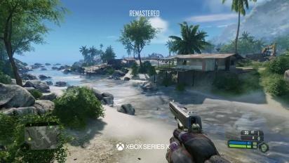 Crysis Remastered Trilogy - Xbox 360 vs. Xbox Series X Comparison Trailer
