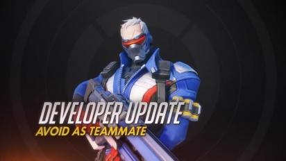 Overwatch - Developer Update: Avoid as Teammate