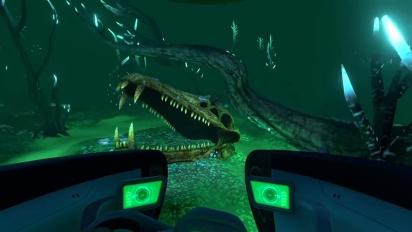 Subnautica -– PS4 Announce Trailer