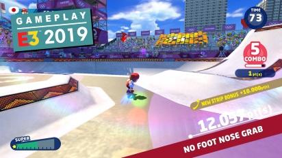 《馬利歐與音速小子 AT 東京奧運 2020》- E3 Demo Gameplay