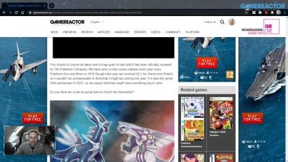 GRTV 新聞 - 謠言:《寶可夢鑽石珍珠》復刻版將於今年11月推出
